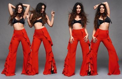 Kareena Kapoor Khan dazzles in a hot red outfit for Magazine photoshoot