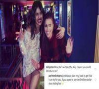 Nick Jonas's adorable flirting reveals Parineeti Chopra's plan for shoe-hiding-fee
