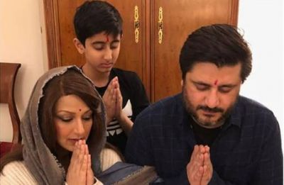 Sonali Bendre and Goldie Behl's Diwali celebration is all heart