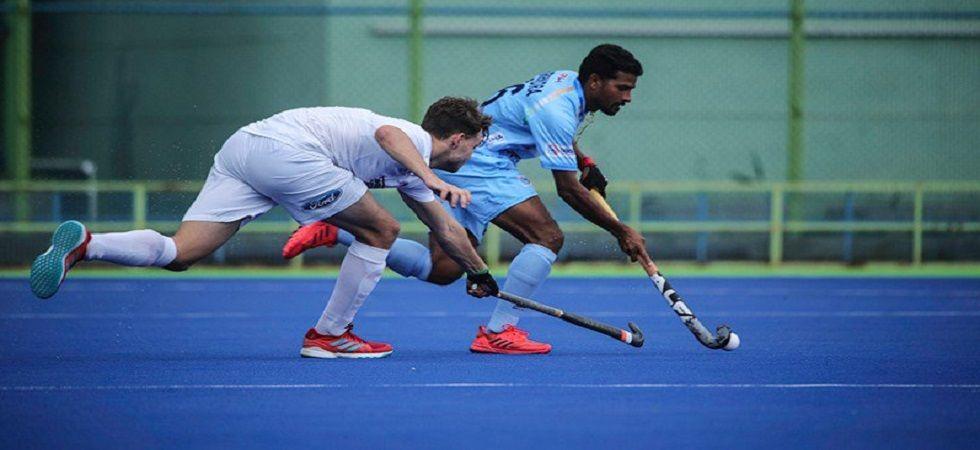 Hockey India names 34 players for junior men's national camp (Photo- Twitter/@TheHockeyIndia)