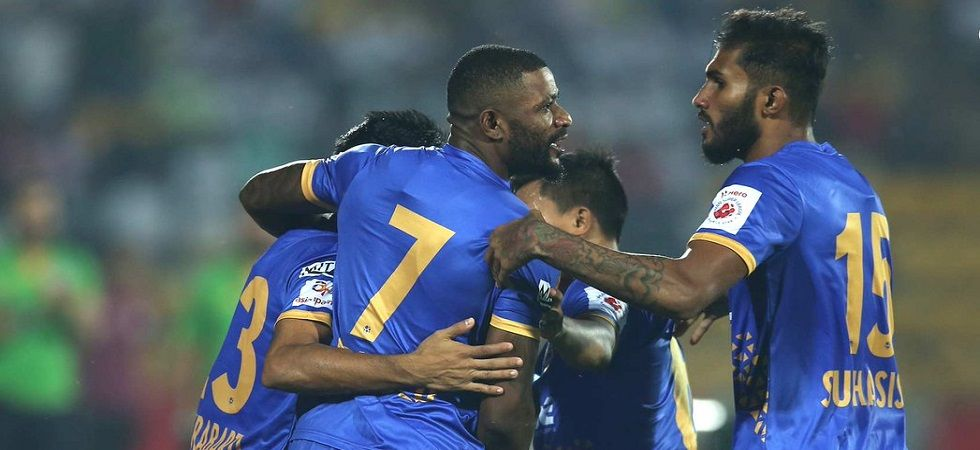 ISL: Mumbai end NorthEast's unbeaten run (Photo- Twitter/@IndSuperLeague)