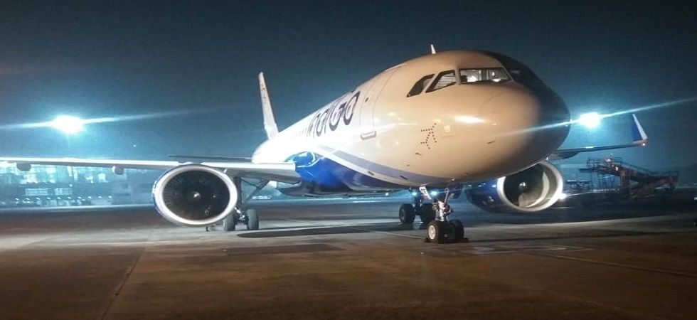 Guwahati-bound IndiGo flight with 76 passengers makes emergency landing in Kolkata (Photo- Twitter)