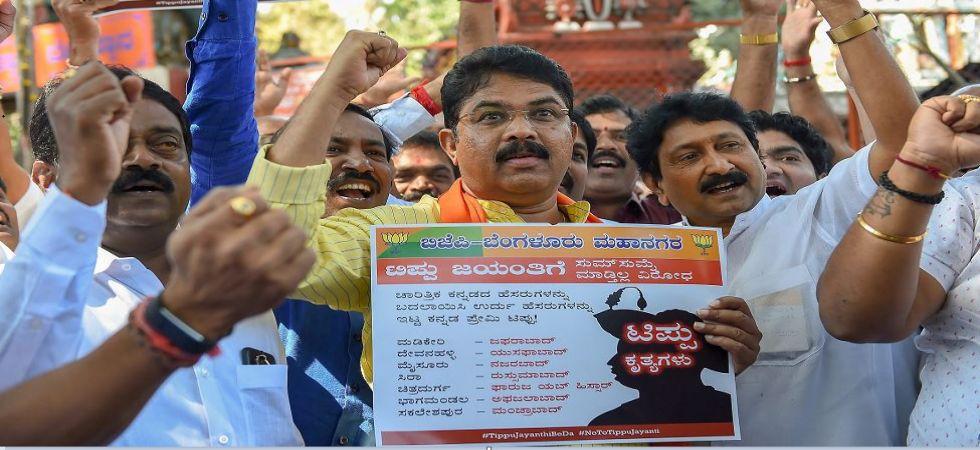 Tipu Jayanti: BJP warns of mounting protest across Karnataka (Photo Source: PTI)