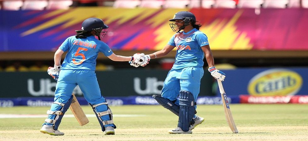 Harmanpreet Kaur became the first Indian woman player to score a century in the World T20 competition. (Image credit: Twitter)