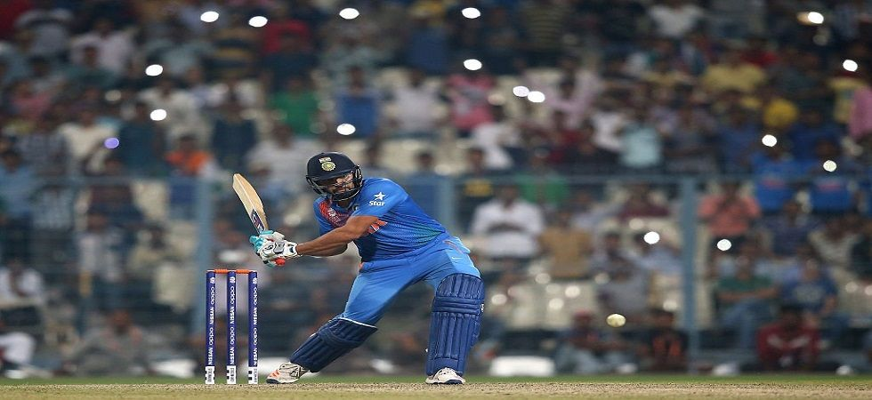 Rohit Sharma has been in fine form in both ODIs and T20Is and will be determined to clean sweep the West Indies. (Image credit: Twitter)