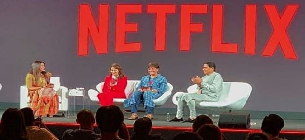 Netflix is disrupting the system in India, says Madhuri Dixit (Instagrammed image)
