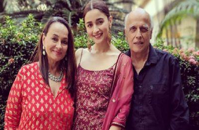 In Pics: Alia Bhatt dazzles in traditional attire at KIFF 2018; gives major family goals with Soni Razdan, Mahesh Bhatt