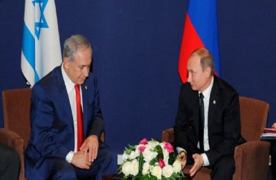 Netanyahu, Putin meet for first time since friendly fire incident