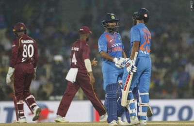 India vs West Indies 3rd T20I: India win by 6 wickets, clinch series 3-0