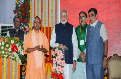 Narendra Modi at Varanasi: PM inaugurates two national highways, multi-modal terminal on River Ganga