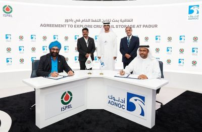 Abu Dhabi oil company hires India's strategic oil storage