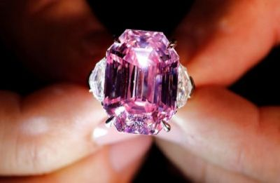 Pink diamond named 'Pink Legacy' set to break record as 'Most Beautiful'