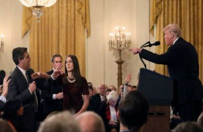 CNN sues Trump administration for revoking its journalist Jim Acosta's White House press credentials