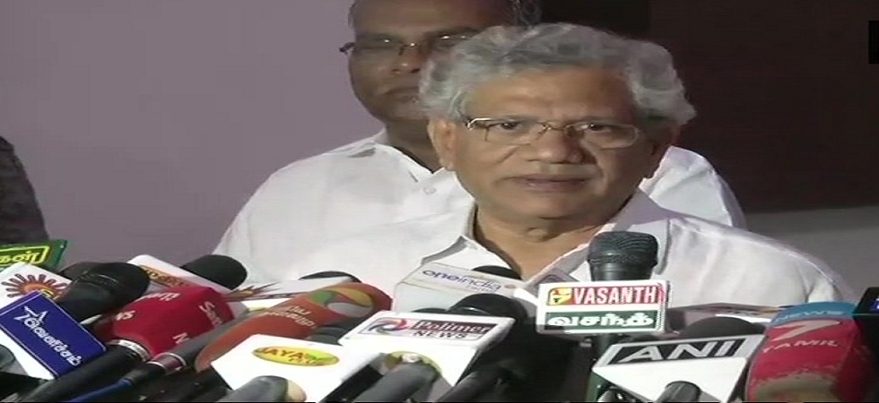In Tamil Nadu, CPI(M), DMK to contest elections together, announces Sitaram Yechury