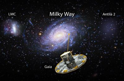 Massive 'ghost' galaxy Ant 2 with few stars hiding close to Milky Way