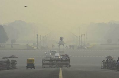 Beautiful November rain in Delhi but air quality still 'far from safe'