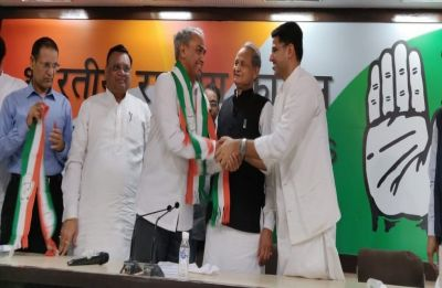 Rajasthan Elections: Former DGP Harish Meena ditches BJP, joins Congress
