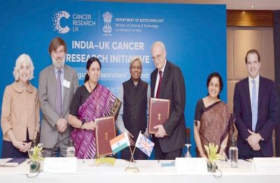 India, UK ink pact for affordable approaches to cancer