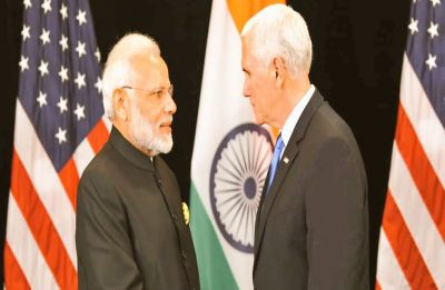 Great opportunity for US to set up defence industry in India: PM Modi to Mike Pence