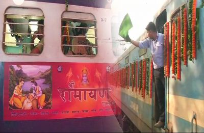 Sri Ramayana Express flagged off from Delhi's Safdarjung station, Know more
