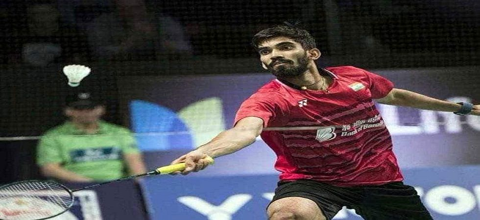 Kidambi Srikanth was knocked out by Japan's Kenta Nishimoto in the quarterfinal of the Hong Kong Open badminton tournament. (Image credit: Twitter)