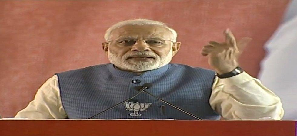 PM Modi in Gwalior.