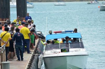 Thai officials recover boat that sank, killing 47 Chinese