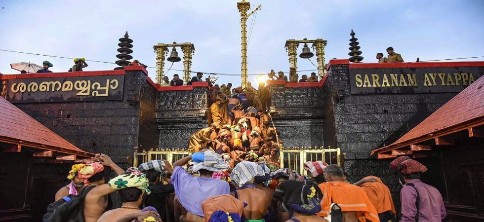 Sabarimala Temple opens for devotees amid protests; strike called in Kerala (Photo: File/PTI)