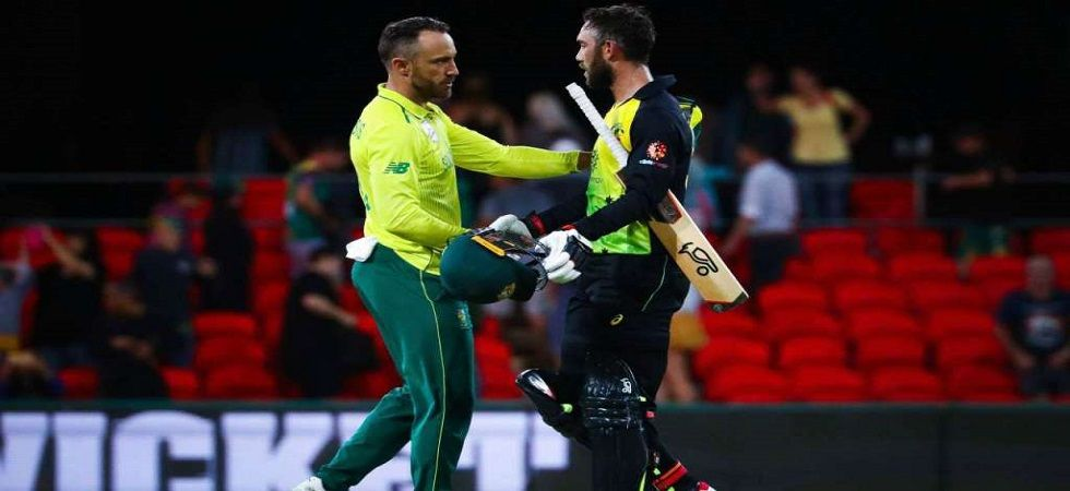 Australia suffered their fourth consecutive loss in Twenty20 Internationals as they lost by 21 runs to South Africa. (Image credit: Twitter)