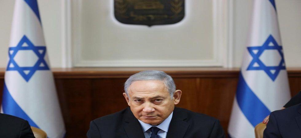 Israeli Prime Minister Benjamin Netanyahu welcomes US vote against UN Golan resolution (Photo- Twitter)