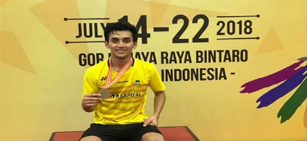 Lakshya Sen could not emulate Saina Nehwal's feat as he settled for bronze in the World Junior Badminton Championship. (Image credit: BAI Media)