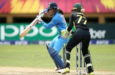 Smriti Mandhana 83 helps India thrash Australia in ICC Women's World T20