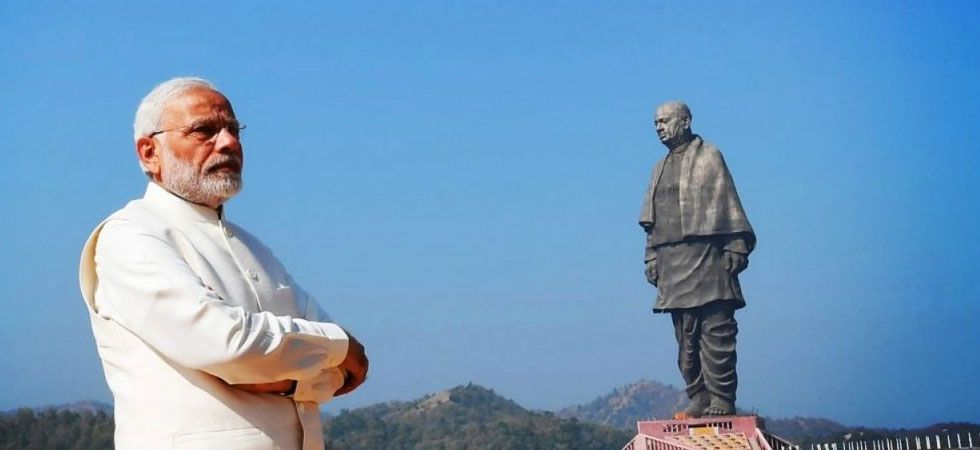 Seeking refuge in gigantic statues of tall statures (Photo: PTI)
