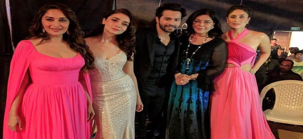 Kareena Kapoor, Madhuri Dixit, Chitrangda Singh in a battle of pink (Photo: Instagram)