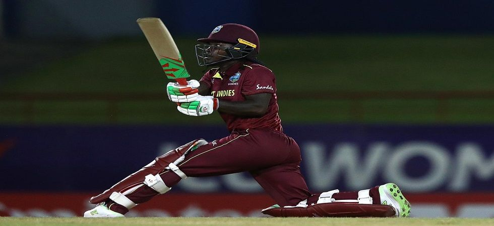 Deandra Dottin's 2/21 and an aggressive 46 helped West Indies enter the semi-finals unbeaten where they will face Australia. (Image credit: ICC Twitter)