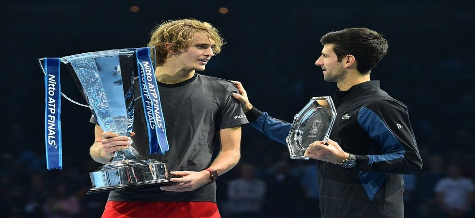 Alexander Zverev won the year-ending ATP Finals in just his second appearance by beating Novak Djokovic in straight sets. (Image credit: Twitter)