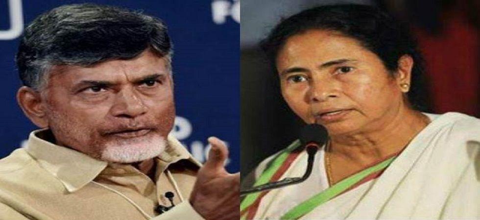 Chandrababu Naidu meets Mamata Banerjee to invite her November 22 meeting.