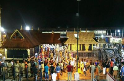 Sabarimala Temple: Late night protests, devotees detained at Sannidhaman