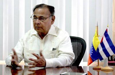 Venezuelan ambassador to Cuba Ali Rodriguez dies at 81