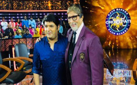 KBC 10 grand finale: Kapil Sharma asks Mr Bachchan for tips