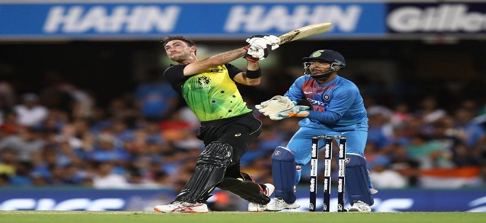 Glenn Maxwell's aggressive knock helped Australia secure a four-run win against India in the first Twenty20 International in Brisbane. (Image credit: Twitter)