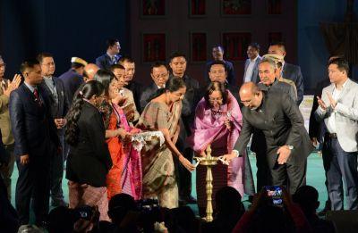 Defence minister Nirmala Sitharaman unveils Manipur's mega Sangai festival