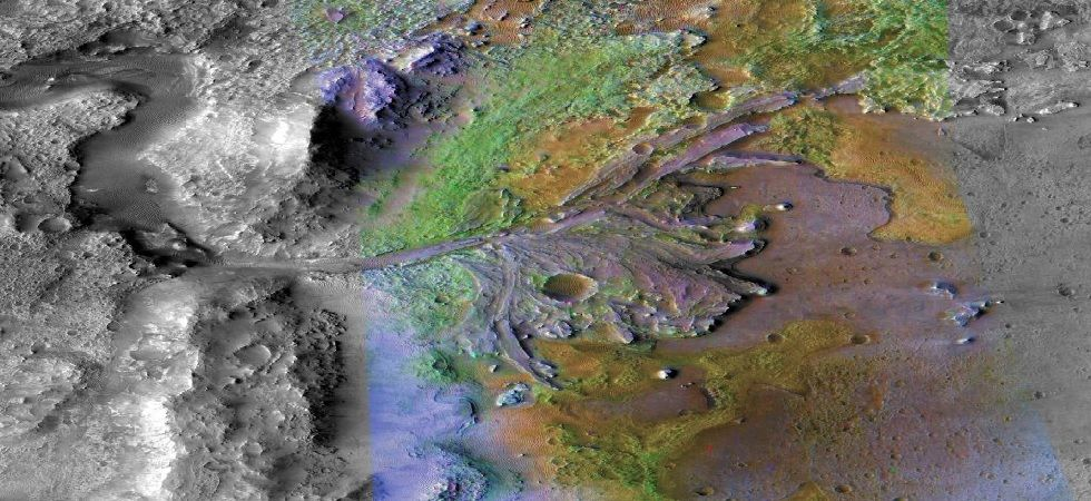 NASA selects Martian River-Delta system for Mars 2020 rover landing (Image: Twitter)