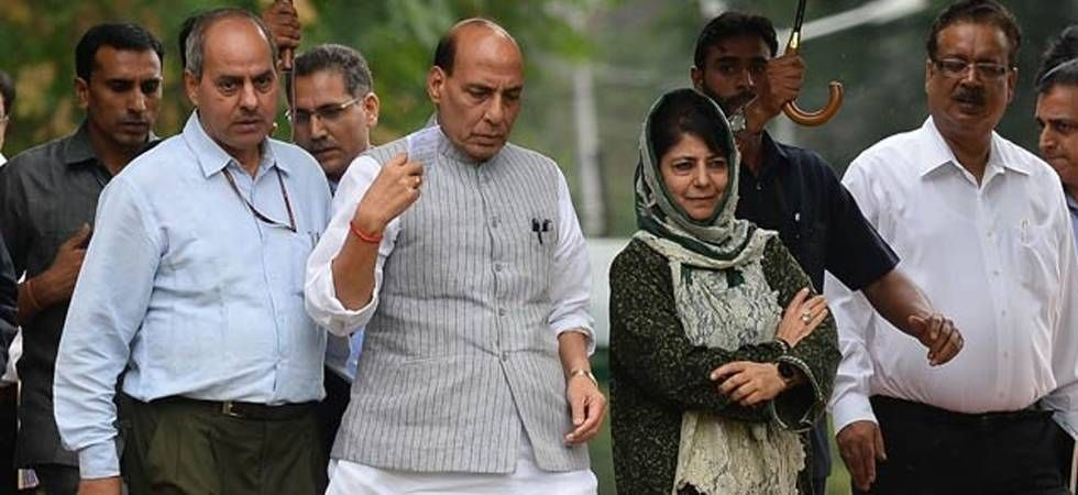 The governor of Jammu and Kashmir took the decision after considering the political situation, says Rajnath Singh (Photo: File)