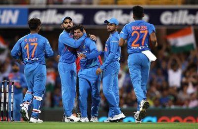 India vs Australia 2nd t20 highlights: Match abandoned due to rain, Australia lead series 1-0