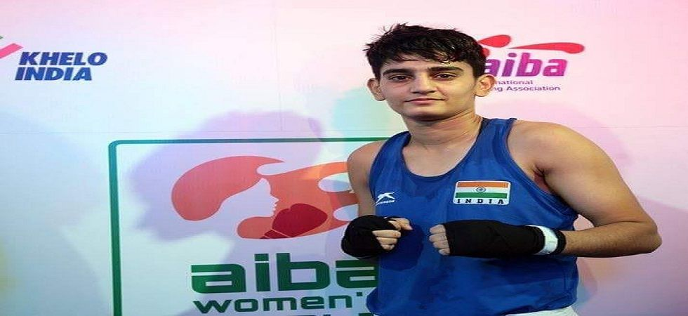 Sonia Chahal entered the final of the Women's World Boxing Championship in her first appearance. (Image credit: AIBA)