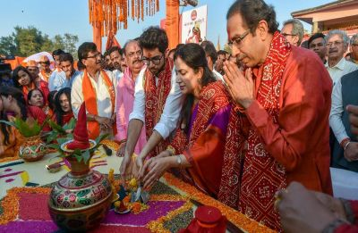 Uddhav Thackeray slams Narendra Modi government, wants date for Ram Temple construction