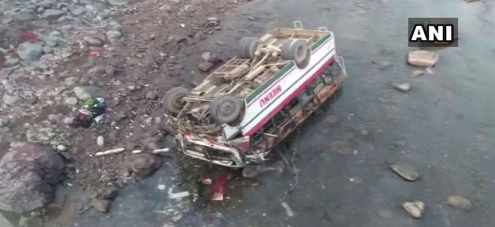 9 dead, 25 injured after bus plunges into river in Himachal Pradesh (Photo Source: ANI)