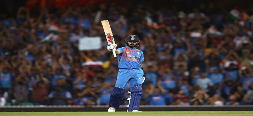 Virat Kohli struck an amazing fifty as India leveled the three-match series with a six-wicket win in Sydney against Australia. (Image credit: Twitter)
