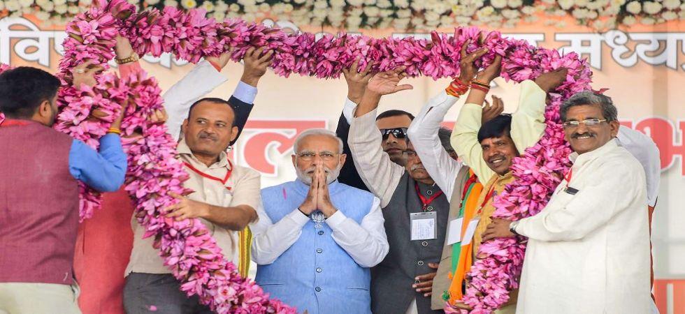 PM Modi's Madhya Pradesh rallies dominated by his 'parents' (Photo Source: PTI)